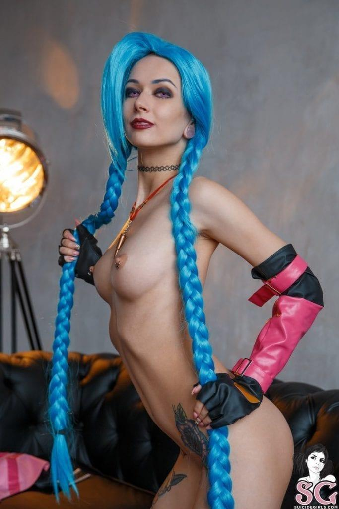 Jinx xxx cosplay